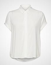Samsøe & Samsøe Majan Ss Shirt 9942 Bluse Kortermet Hvit SAMSØE & SAMSØE
