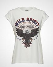Vila Vicolba S/S T-Shirt T-shirts & Tops Short-sleeved Creme VILA