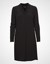 Bruuns Bazaar Liva Jennifer Dress Knelang Kjole Svart BRUUNS BAZAAR
