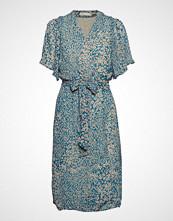 InWear Tallyiw Dress Knelang Kjole Blå INWEAR