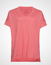 Violeta by Mango Organic Cotton T-Shirt T-shirts & Tops Short-sleeved Rosa VIOLETA BY MANGO