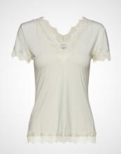 Rosemunde T-Shirt Ss Bluse Kortermet Creme ROSEMUNDE