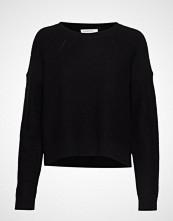 DESIGNERS, REMIX Silvia Cropped Sweater Strikket Genser Svart DESIGNERS, REMIX