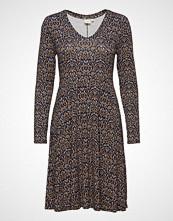 Cream Rory Dress Knelang Kjole Blå CREAM