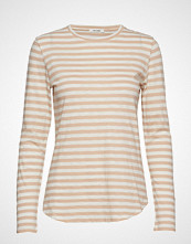 nué notes Paris T-Shirt T-shirts & Tops Long-sleeved Creme NUÉ NOTES