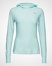 Puma Ignite L/S Hoody Tee T-shirts & Tops Long-sleeved Blå PUMA