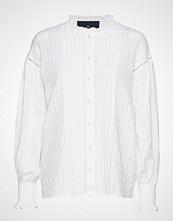 DESIGNERS, REMIX Nava Shirt Langermet Skjorte Hvit DESIGNERS, REMIX