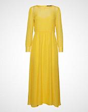 Bruuns Bazaar Zilke Luzia Dress Maxikjole Festkjole Gul BRUUNS BAZAAR