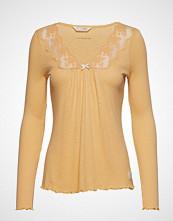 Odd Molly Rib-Eye Top T-shirts & Tops Long-sleeved Gul ODD MOLLY