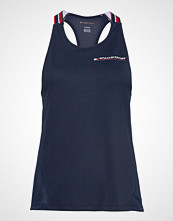 Tommy Sport Classic Mesh Tank To T-shirts & Tops Sleeveless Blå TOMMY SPORT