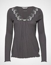Odd Molly Rib-Eye Top T-shirts & Tops Long-sleeved Grå ODD MOLLY