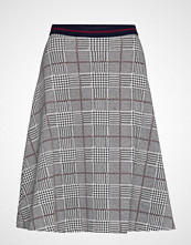 Esprit Casual Skirts Knitted Knelangt Skjørt Grå ESPRIT CASUAL