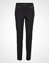 Betty Barclay Pants Classic 1/1 Length Bukser Med Rette Ben Svart BETTY BARCLAY