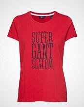 Gant O1. Gift Giving Ss T-Shirt T-shirts & Tops Short-sleeved Rød GANT