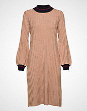 Morris Lady Jaqueline Knit Dress Knelang Kjole Rosa MORRIS LADY
