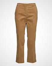 Esprit Casual Pants Woven Bukser Med Rette Ben Brun ESPRIT CASUAL
