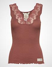 Odd Molly Rib-Eye Tank T-shirts & Tops Sleeveless Rød ODD MOLLY