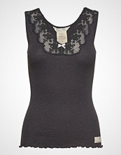 Odd Molly Rib-Eye Tank T-shirts & Tops Sleeveless Grå ODD MOLLY