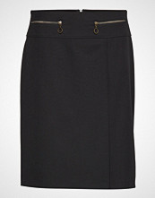 Betty Barclay Skirt Medium Length Classic Knelangt Skjørt Svart BETTY BARCLAY