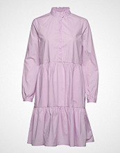 Soft Rebels Leanna Ls Dress Knelang Kjole Lilla Soft Rebels