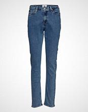 Calvin Klein Ckj 020 High Rise Sl Slim Jeans Blå CALVIN KLEIN JEANS