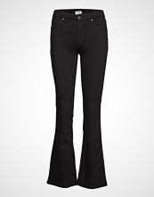 Wrangler Bootcut Jeans Sleng Svart WRANGLER