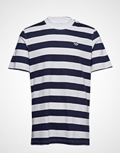 Adidas Originals Stripe Tee T-shirts Short-sleeved Blå Adidas Originals