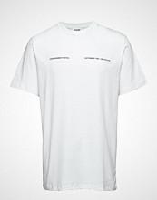 Soulland Soulland Meets Playboy - September T-Shirt - White T-shirts Short-sleeved Hvit SOULLAND