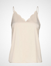 Vero Moda Vmimportant Singlet Vma T-shirts & Tops Sleeveless Creme VERO MODA