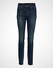 Armani Exchange Woman Denim 5 Pockets Pant Skinny Jeans Blå ARMANI EXCHANGE