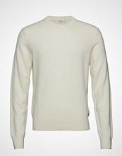Filippa K M. Cashmere Sweater Strikkegenser M. Rund Krage Creme FILIPPA K