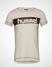 Hummel Hmlnatalie T-Shirt S/S T-shirts & Tops Short-sleeved Creme HUMMEL