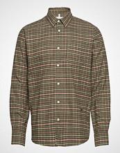 Soulland Logan Flannel Shirt Skjorte Uformell Grønn Soulland
