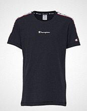 Cènnìs Crewneck T-Shirt T-shirts & Tops Short-sleeved Blå CHAMPION