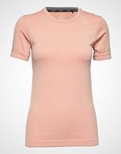 Craft Fuseknit Comfort Rn Ss T-shirts & Tops Short-sleeved Rosa Craft