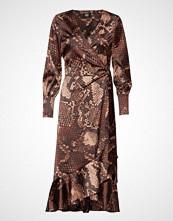 Twist & Tango Tammy Dress Knelang Kjole Brun Twist & Tango