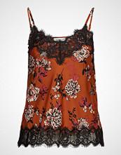 Rosemunde Strap Top T-shirts & Tops Sleeveless Oransje Rosemunde