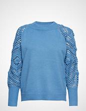 Minus Thara Knit Pullover Strikket Genser Blå MINUS
