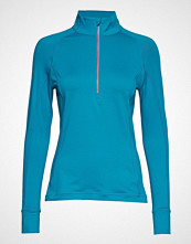 Puma Golf W Rotation 1/4 Zip T-shirts & Tops Long-sleeved Blå PUMA Golf