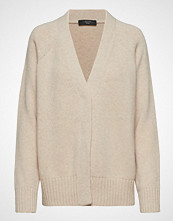 Weekend Max Mara Calamai Strikkegenser Cardigan Beige WEEKEND MAX MARA