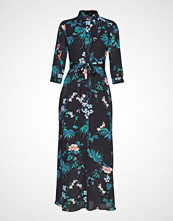 Banana Republic I Savannah Maxi Dress Floral Tropical Blooms Maxikjole Festkjole Svart Banana Republic