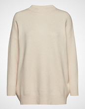 Mango Over Sweater Strikket Genser Creme MANGO