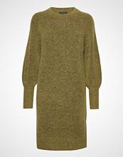 Selected Femme Slfkylie Ls Knit Dress B Strikket Kjole Grønn SELECTED FEMME