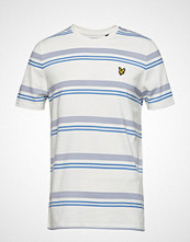 Lyle & Scott Stripe T-Shirt T-shirts Short-sleeved Hvit LYLE & SCOTT