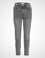 Mango Mom Slim Jeans Slim Jeans Grå MANGO