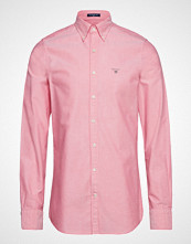 Gant The Oxford Shirt Slim Bd Skjorte Business Rosa GANT