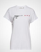 Gestuz Guragz Tee Ao19 T-shirts & Tops Short-sleeved Hvit GESTUZ