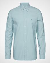 Calvin Klein Galdo_bd Washed Oxford Skjorte Business Blå CALVIN KLEIN