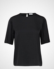 Filippa K Silk Tee T-shirts & Tops Short-sleeved Svart FILIPPA K
