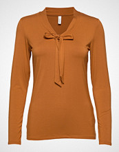 Soyaconcept Sc-Marica T-shirts & Tops Long-sleeved Oransje SOYACONCEPT